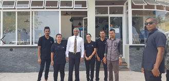 China Maldives New President Mr Solihu Visit Client'S Celeste Hotel proveedor