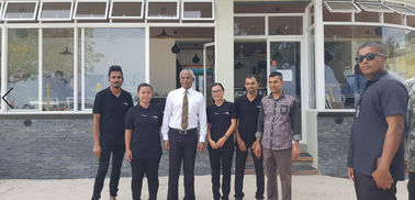 China Maldives New President Mr Solihu Visit Client'S Celeste Hotel fábrica